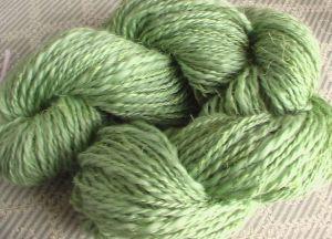 sari silk green