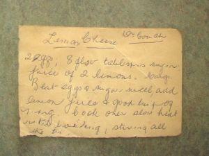 Nana's lemon butter recipe